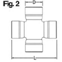 Krzyżak 27x81,70