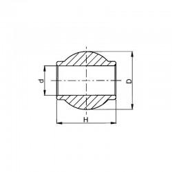 Kula łącznika TUZ 25/50mm