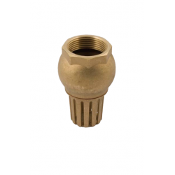 Brass Bottom Value 1""