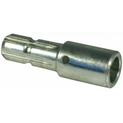 Adapter with cylindrical...