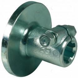 "Flanged hub 1 3/8"" with..."
