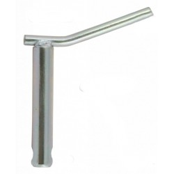 Pin with handle 28mm/120mm