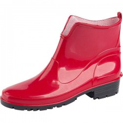 Short galoshes - red