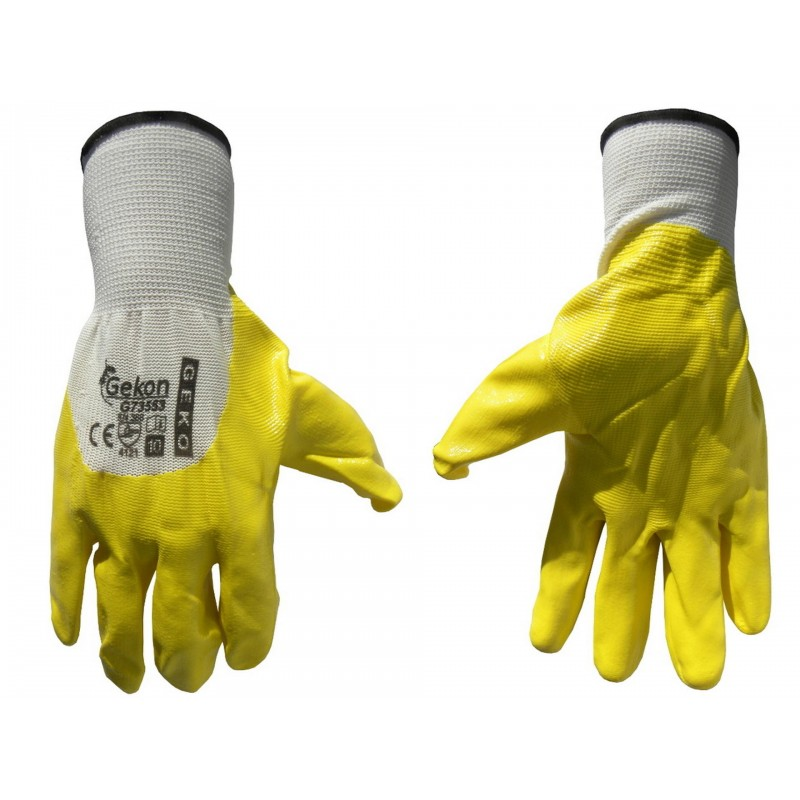 "Protective gloves ""Gekon"" - yellow"