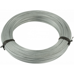 Wire rope Ø8mm with a textile fiber core
