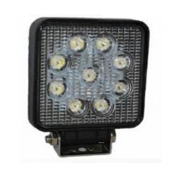 Square halogen LED 27W, flood light