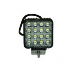 Square halogen LED 48W, spot light