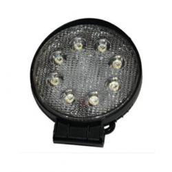 Round halogen LED 24W, flood light