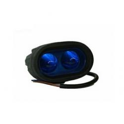 Halogen oval LED 20W blue