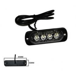 Halogen 4 LED flash - white