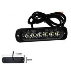 Halogen 6 LED flash - white