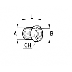 Hydraulic reduction M-F