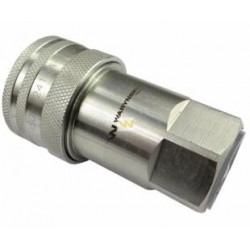 "Hydraulic quick coupler socket ISO-A BSP 1/2"" Warynski"