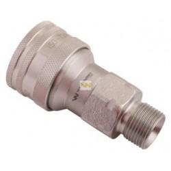 Hydraulic quick coupler socket ISO-A M20x1,5 Warynski