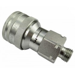 Hydraulic quick coupler socket ISO-A M14x1,5 Warynski