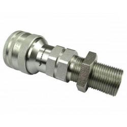 Hydraulic quick coupler socket ISO-A M22x1,5 long Warynski