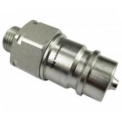 Hydraulic quick coupler plug ISO-A M16x1,5 Warynski