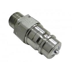 Hydraulic quick coupler plug ISO-A M20x1,5 Warynski