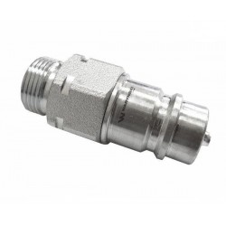 Hydraulic quick coupler plug ISO-A M22x1,5 Warynski