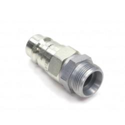 Hydraulic quick coupler plug ISO-A M26x1,5 Warynski