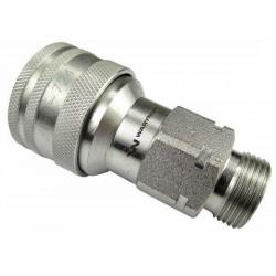 Hydraulic quick coupler socket ISO-A M22x1,5 Warynski