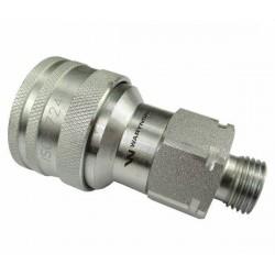 Hydraulic quick coupler socket ISO-A M16x1,5 Warynski