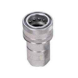 "Hydraulic quick coupler socket ISO-A 1/4"" NPT"
