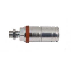 Hydraulic quick coupler socket PUSH-PULL M18x1,5