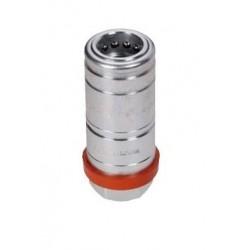 "Hydraulic quick coupler socket PUSH-PULL GAS 1/2"" - under pressure"