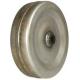 Koło stalowe gładkie z tulejką nylonową 230 mm