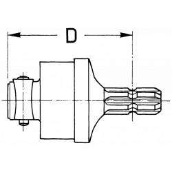 Sprzęgło jednokierunkowe Lewe1600 Nm