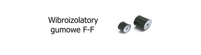 Wibroizolatory gumowe F-F