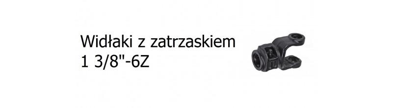 """Widłaki z zatrzaskiem 1 3/8"""" 6z"""