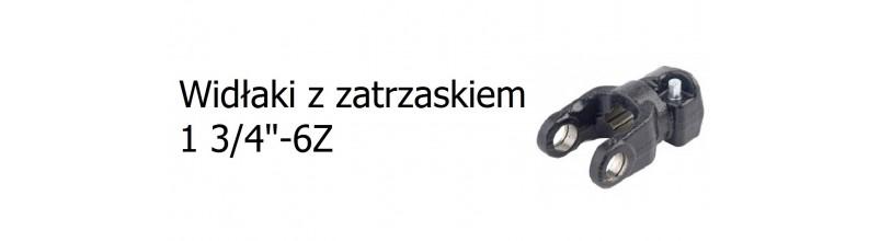 """Widłaki z zatrzaskiem 1 3/4"""" 6z"""
