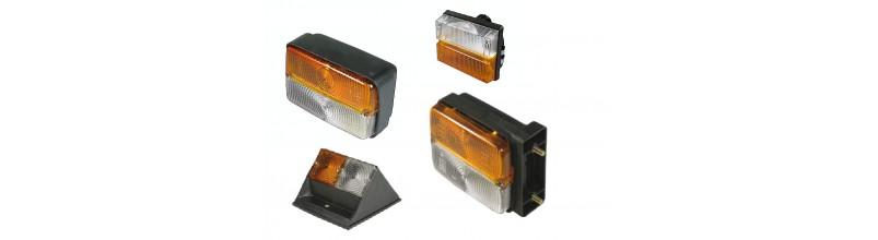 Lampy przednie zespolone