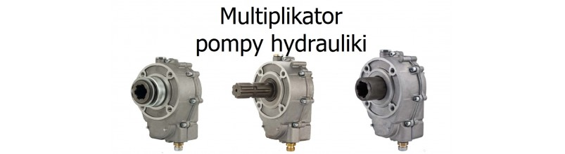 Multiplikatory pomp hydraulicznych