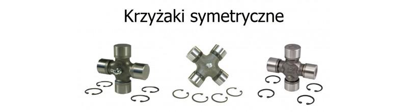 Cross couplings symmetric