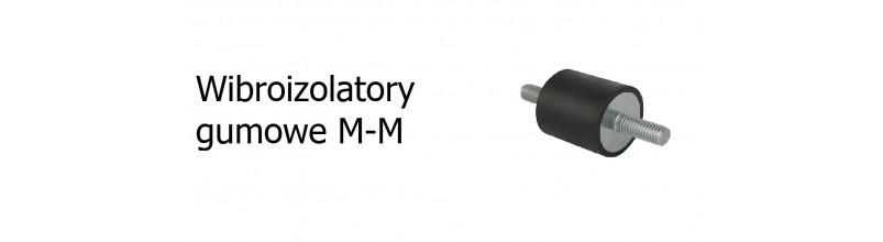 Wibroizolatory gumowe M-M